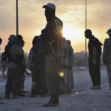 Irak: Vorrücken von ISIS bedroht Zivilisten