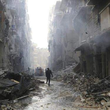 Ending Syria's Atrocities Is a Prerequisite to Ending Its War