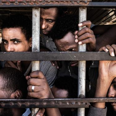 Libya: Whipped, Beaten, and Hung from Trees