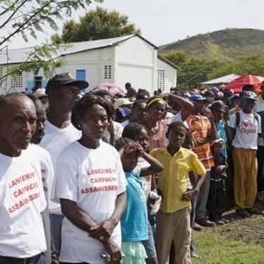 Informe Mundial 2015: Haití