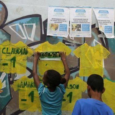 Relatório Mundial 2015: Brasil