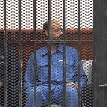 Libya: Gaddafi Son, Ex-Officials, Held Without Due Process