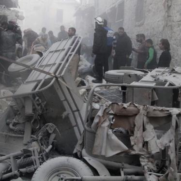 Наибольшую угрозу для сирийцев представляют не боевики ИГ, а бочковые бомбы