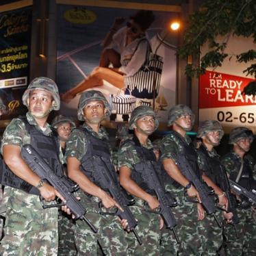 Thailand: Stop Secret Military Detentions