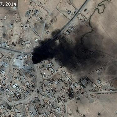 Irak: Milicias destruyen pueblos y provocan el desplazamiento de miles de personas