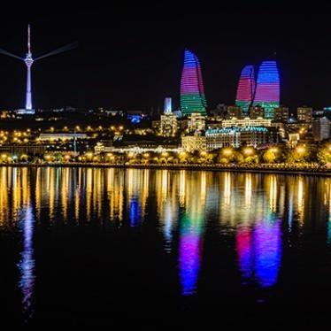 Durch Baku mit der Lobbyisten-Brille