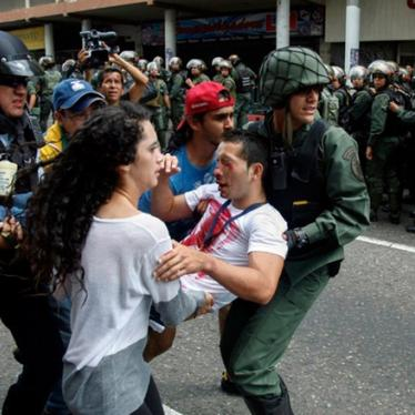 Venezuela: New Military Authority to Curb Protests
