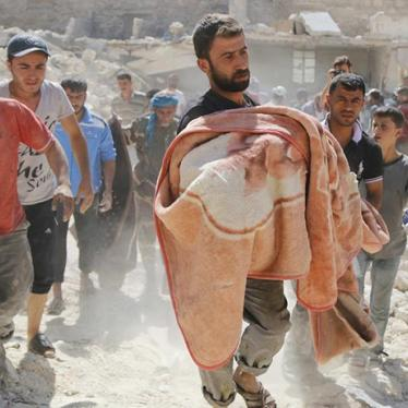 To Stem the Flow of Syrian Refugees, Stop the Barrel Bombs