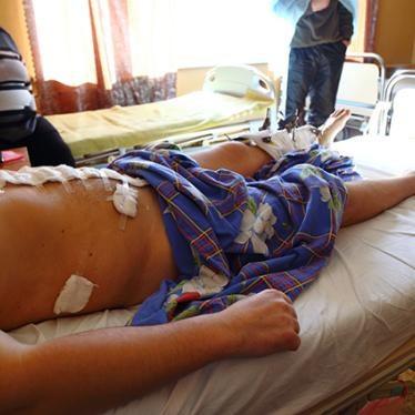 Украина: Гражданское население испытывает трудности с получением медицинской помощи