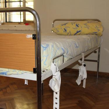 Dispatches: Tied to a Bed in Croatia