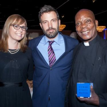 Ben Affleck, Ozomatli and 800 supporters gather to celebrate the work of Abbé Benoît Kinalegu at the Voices for Justice Dinner in Los Angeles