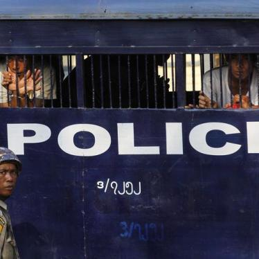 Burma: Growing Political Prisoner Population
