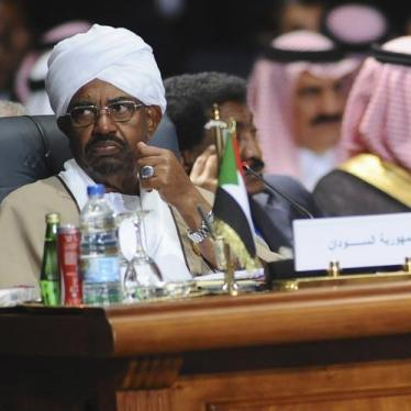 Jordan: Bar Entry or Arrest Sudan's Bashir
