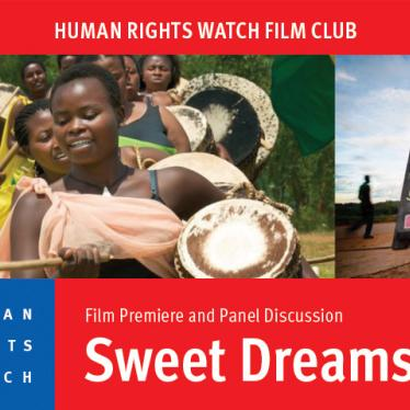 "HRW Film Club Hosts Screening and Discussion of ""Sweet Dreams"""