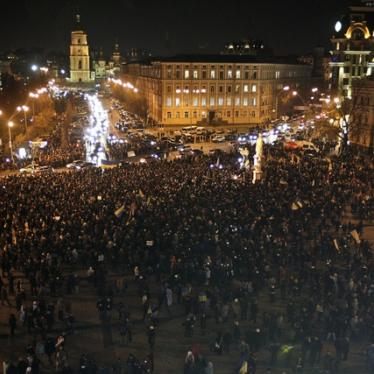 Ukraine: Excessive Force Against Protesters