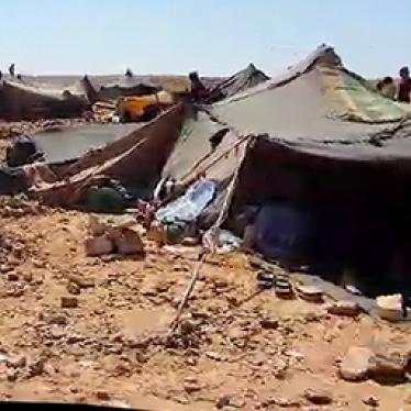 Jordan: Syrians Blocked, Stranded in Desert