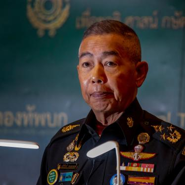 Thailand Army Chief General Apirat Kongsompong speaks during a press briefing in Bangkok, Thailand, February 11, 2020.