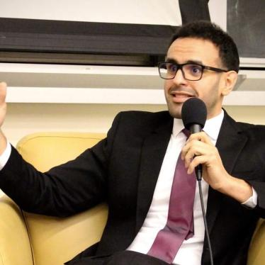 Human rights activist Mohamed Soltan, an American citizen now living in Virginia, is suing former Egyptian prime minister Hazem el-Bablawi.