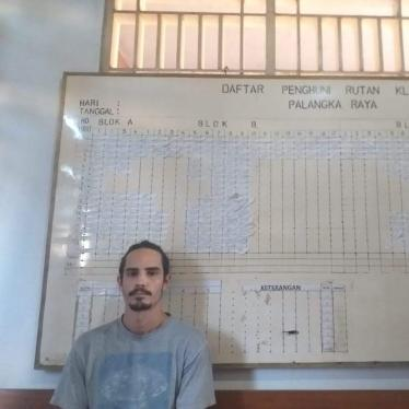 American environmentalist Phil Jacobson was deported from Indonesia to the United States in January 2020 after 45 days under city arrest in Central Kalimantan for an alleged visa infraction.
