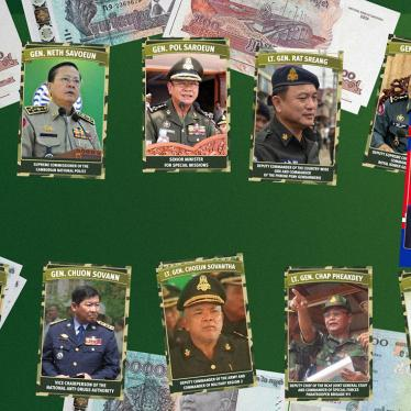 Photos of Cambodian generals