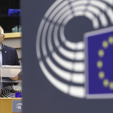 European Union foreign policy chief Josep Borrell in Brussels, Wednesday, Oct. 7, 2020.