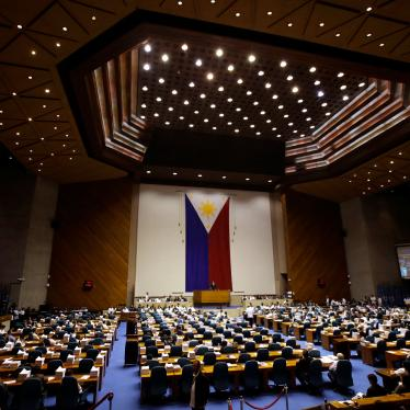 Members of Congress convene at the House of Representatives in Quezon city, metropolitan Manila, Philippines, in this May 31, 2017 file photo.
