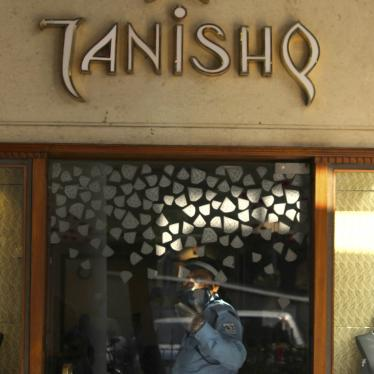 "The showroom of Titan's jewellery brand ""Tanishq'"" at Connaught Place in New Delhi, India, October 2020."