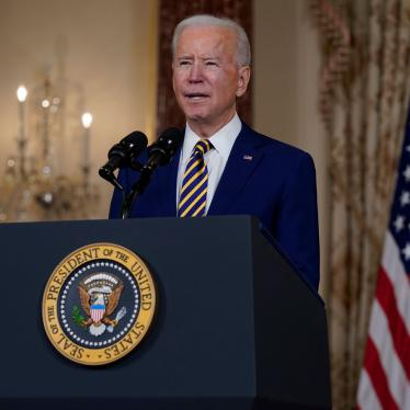 President Joe Biden speaks about foreign policy, at the State Department in Washington, February 4, 2021.