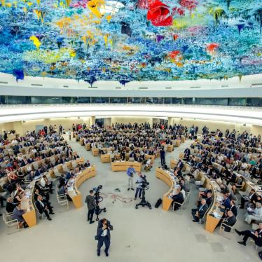 Delegates sit at the opening of the 41th session of the Human Rights Council, at the European headquarters of the United Nations in Geneva, Switzerland, June 24, 2019.