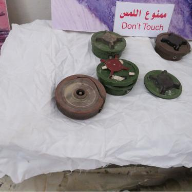 PMN-2 blast mines recovered from Tripoli, Libya, December 2020.