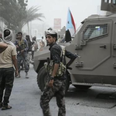 Southern Transitional Council forces backed by the United Arab Emirates prepare to storm the presidential palace in the southern port city of Aden, Yemen on August 9, 2019.