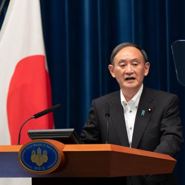 Japanese Prime Minister Yoshihide Suga speaks at a news conference in Tokyo, Japan, May 7, 2021.