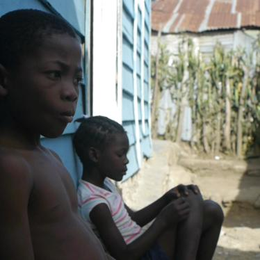 Interview:  Lives on Hold for the Dominican Republic's Haitian Minority