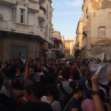 Tunisie : Répression de manifestations pacifiques