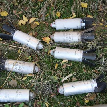 Cluster Munitions Used in 5 Countries in 2015