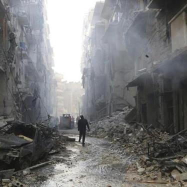 叙利亚战事若无法迅速解决,至少须保护平民