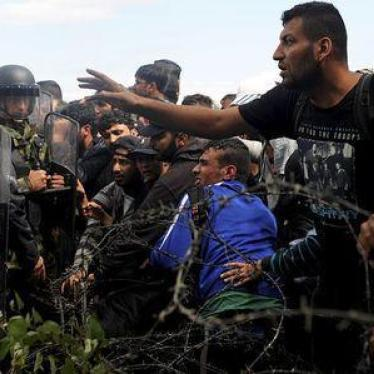 macedonia greece migrants