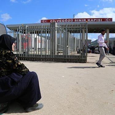 土耳其:叙利亚人民在边界被赶回