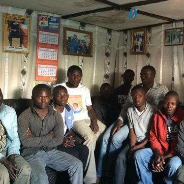 RD Congo : Les prisonniers politiques doivent être libérés
