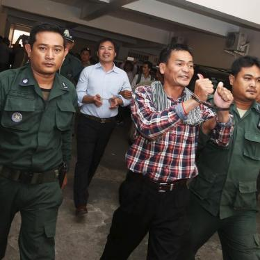 Cambodia: Exonerate 11 Wrongly Convicted Activists