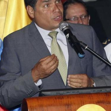 Ecuador: Courts Stalling on Protester Appeals
