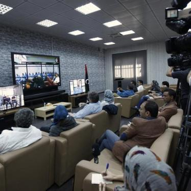 Libya: Flawed Trial of Gaddafi Officials