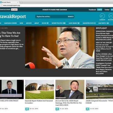 Malaysia: End Website Blocking, Politicized Investigations