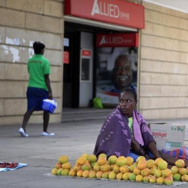 Zimbabwe: Violent Crackdown on Street Vendors
