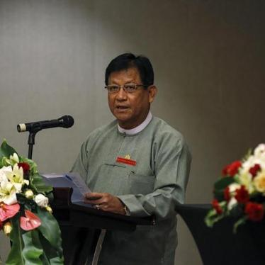 Burma: Parties Ordered Not to Criticize Army