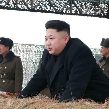 North Korea: Hold Kim Jong-Un to Account for Abuses