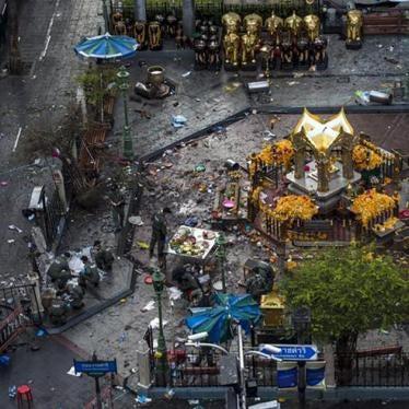 泰国:曼谷致命炸弹攻击