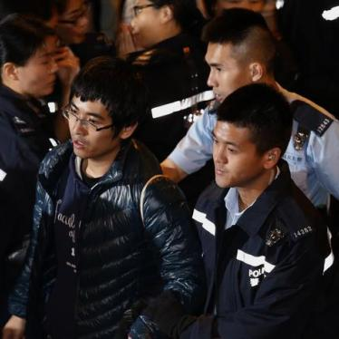 "Hong Kong: Investigate Handling of ""Umbrella Movement"""