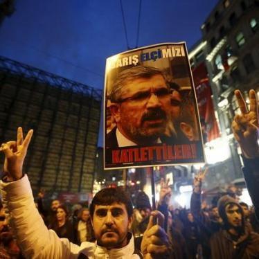 Turkey: Human Rights Lawyer Murdered