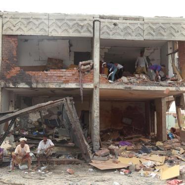 イエメン:アラブ連合軍による居住区への空爆は明らかな戦争犯罪